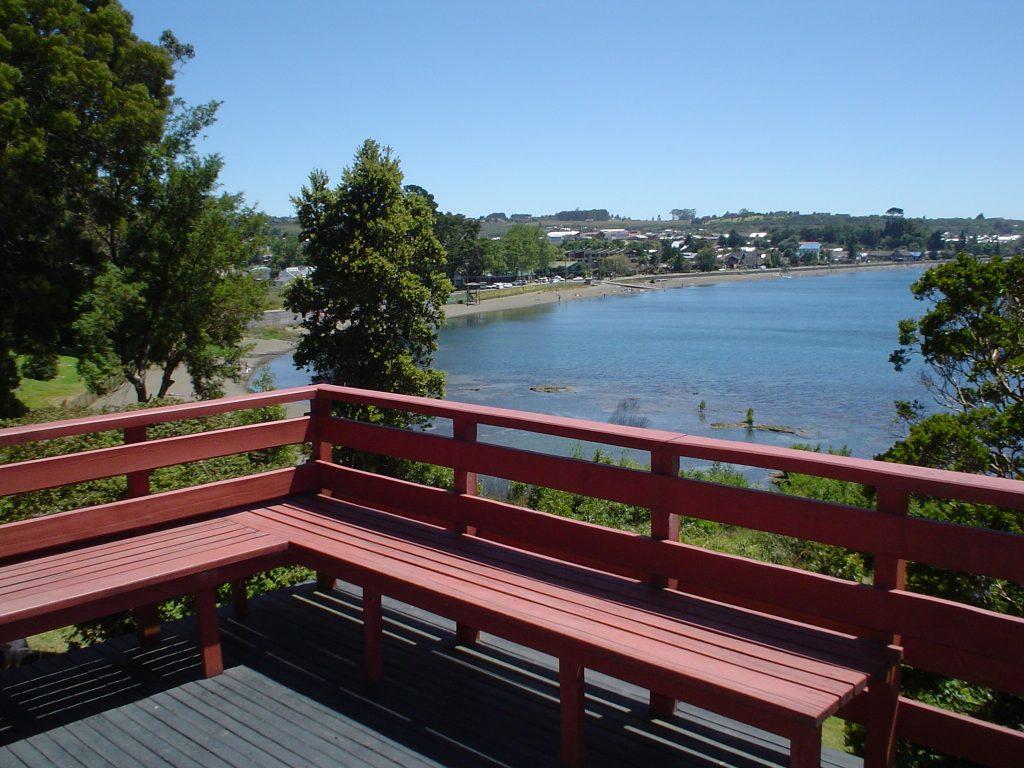 Bienvenido balcon vista al lago LLanquihue y Puerto Varas